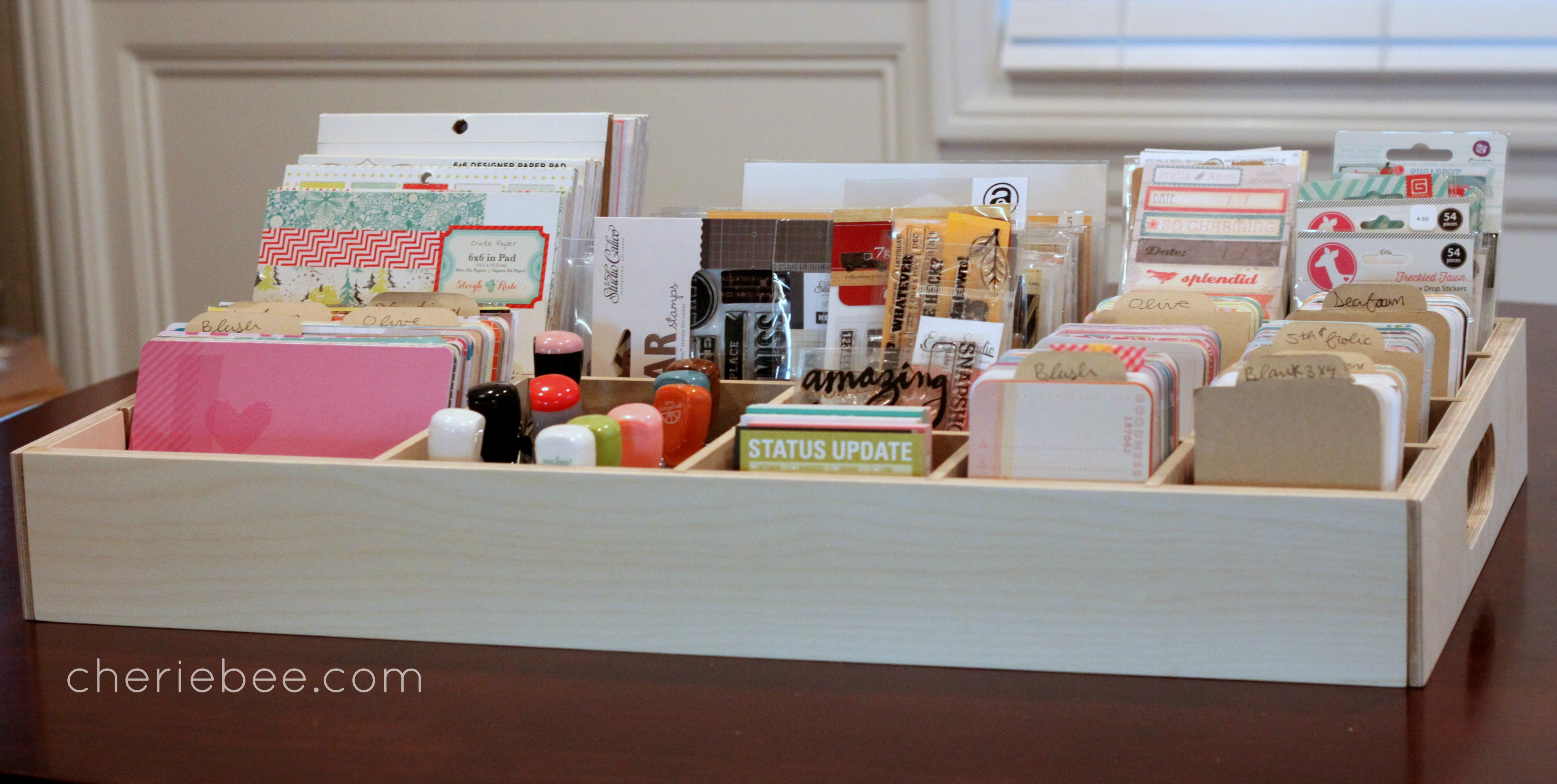 On sale now// Project Life storage boxes